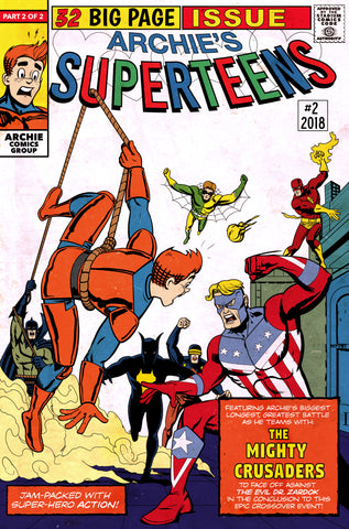 "ARCHIES SUPERTEENS VS CRUSADERS #2 ""Amazing Spider-Man Annual #1"" EXCLUSIVE Homage Variant Cover!"