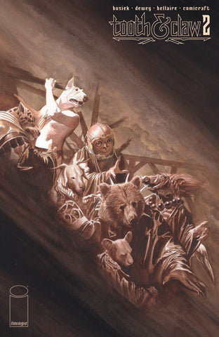 AUTUMNLANDS TOOTH & CLAW #2 ALEX ROSS COVER
