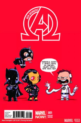 New Avengers #1 Skottie Young Variant