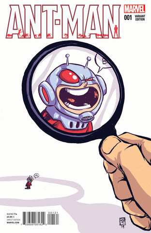 Ant-Man #1 Skottie Young Variant