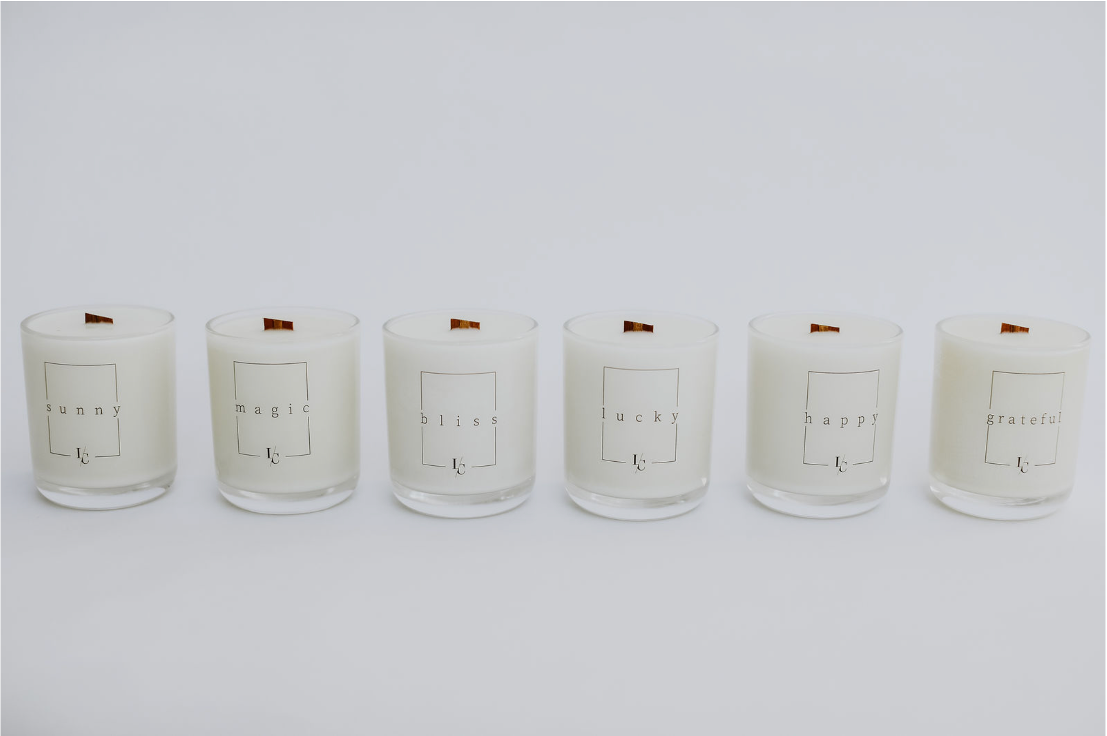 Left Coast Candle Co. luxury soy candles handmade Southern California gifts home decor