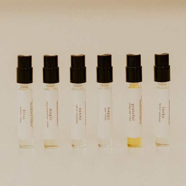 Fragrance Samples 12 pack