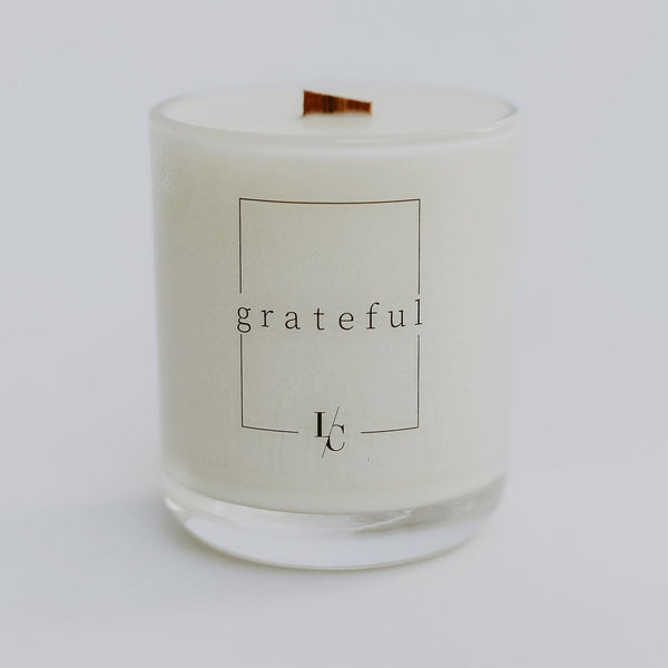 grateful orange rind and clove soy candle los angeles