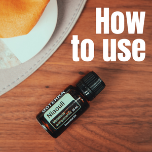 How to use doTERRA Niaouli Essential Oil