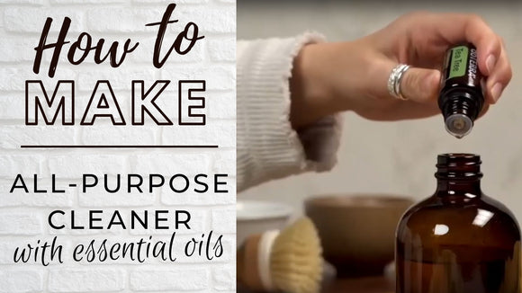 How to make an All-Purpose Cleaner with Essential Oils