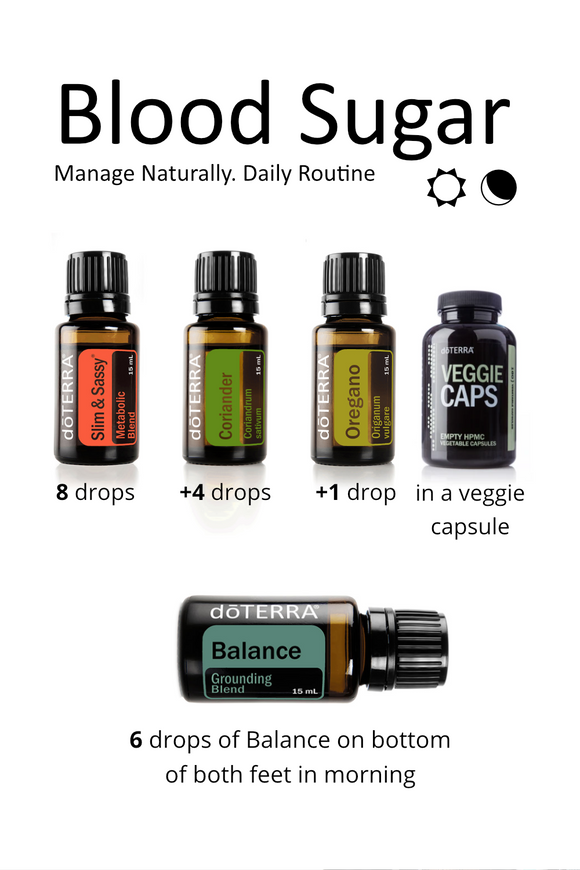 Managing Blood Sugar Naturally with Essential Oils