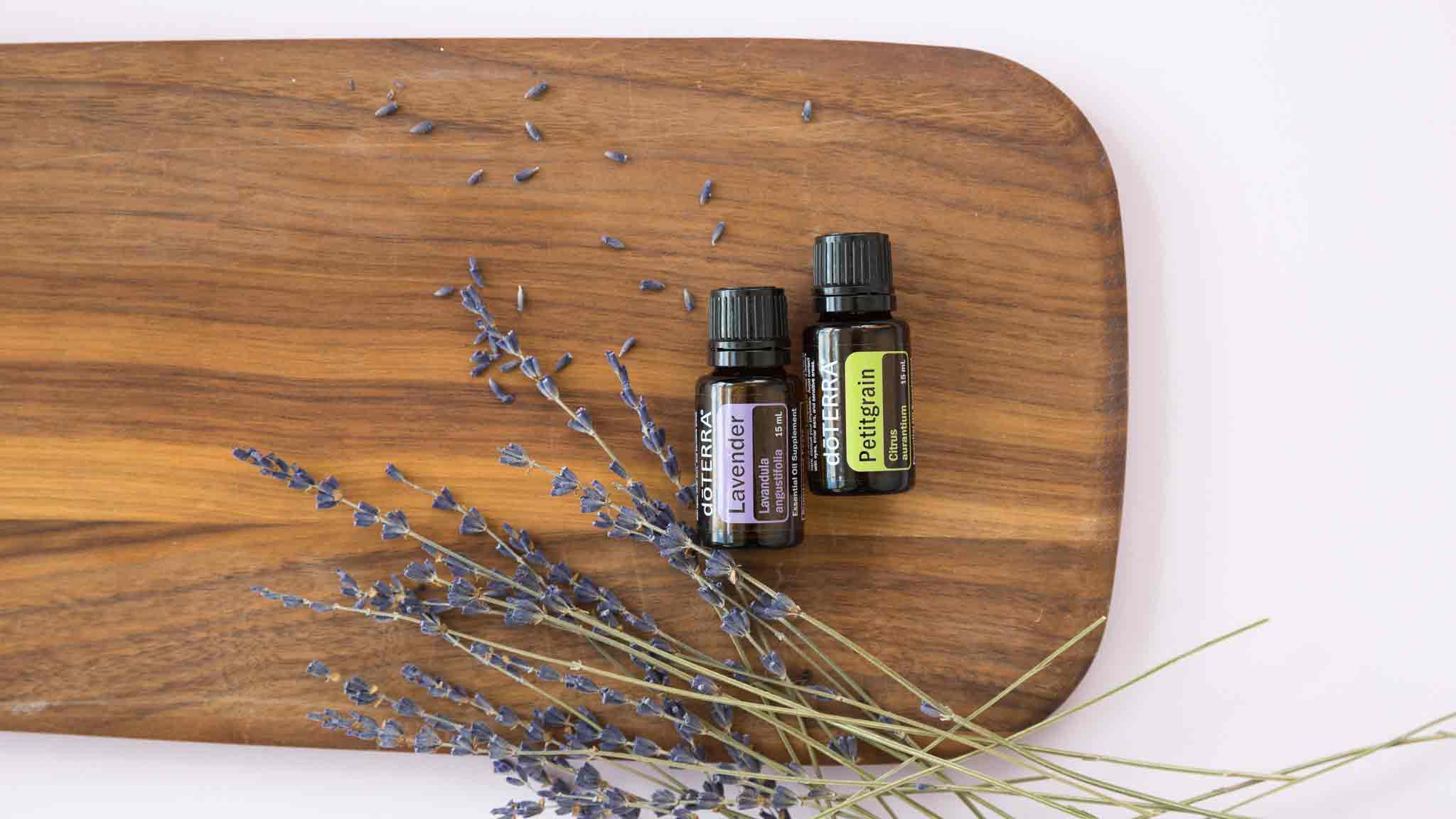 Sleep Soundly With Lavender And Petitgrain Dōterra Essential Oils