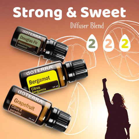 Strong and Sweet Diffuser Blend