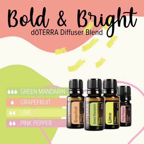 Bold and Bright Diffuser Blend