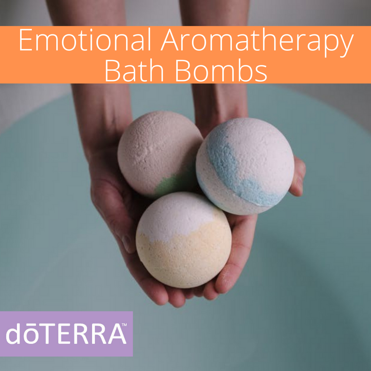 Emotional Aromatherapy Bath Bombs