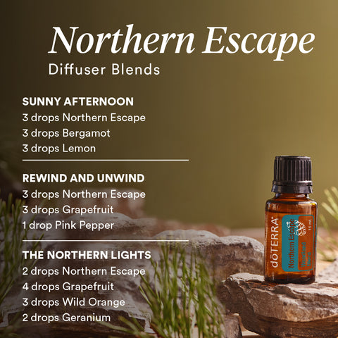 doTERRA Northern Escape Diffuser Blends