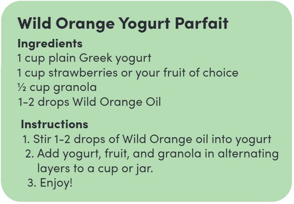 Parfait Ingredients