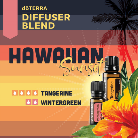Hawaiian Sunset Diffuser Blend