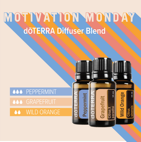Motivation Monday Diffuser Blend