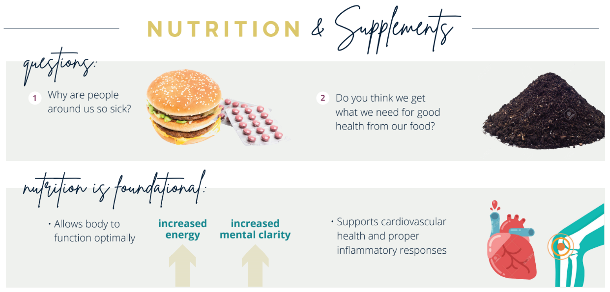 Nutrition is foundational