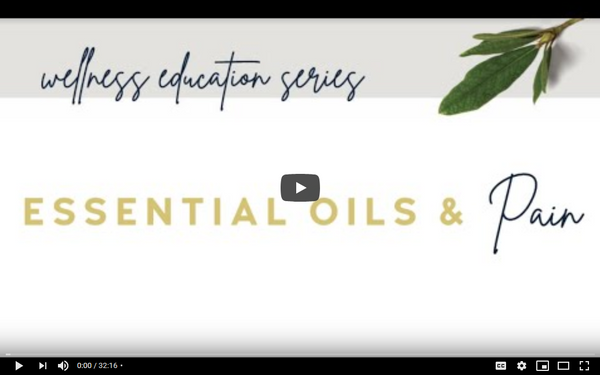 Essential Oils and Pain Video
