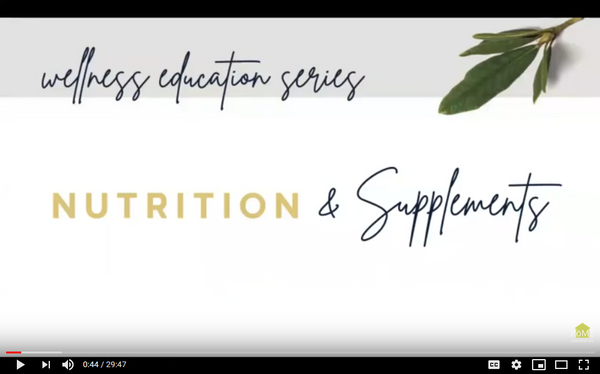 Video Class: Nutrition and Supplements