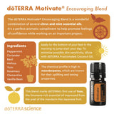 Motivate blend infographic