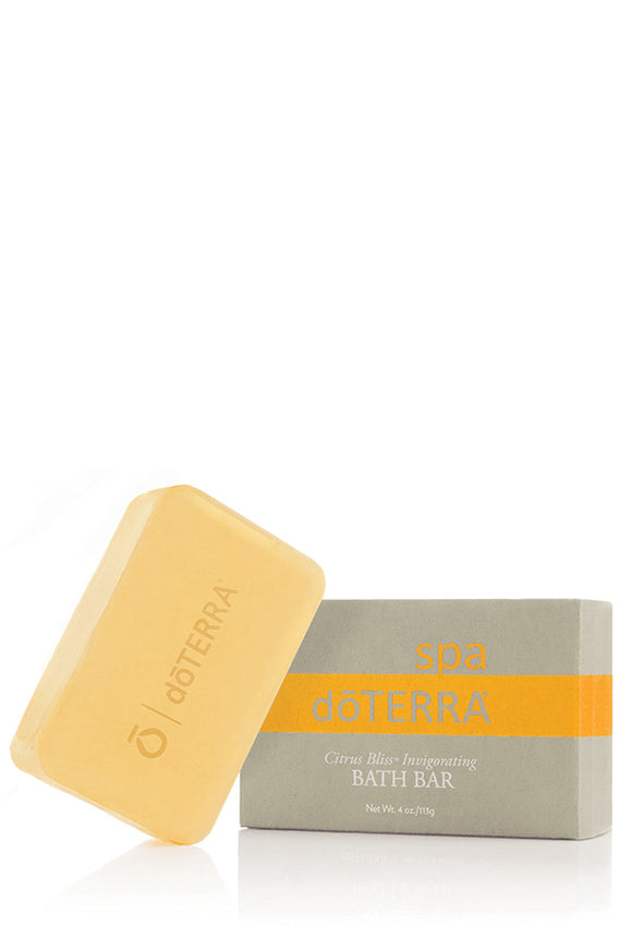 doTERRA SPA Citrus Bliss Invigorating Bath Bar - doTERRA