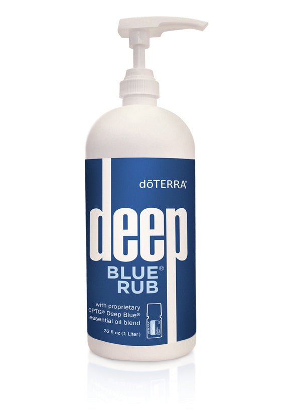 doTERRA Deep Blue Rub Liter Bottle - doTERRA