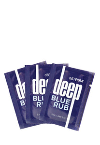 doTERRA Deep Blue Rub Samples - doTERRA