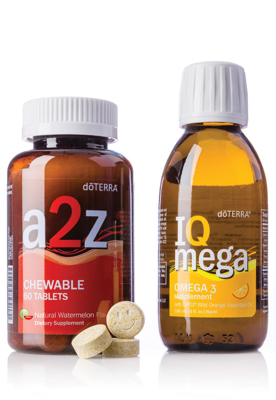 doTERRA a2z Chewable and IQ Mega Pack