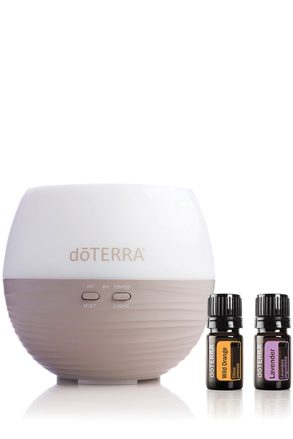 doTERRA Petal Diffuser with Lavender and Wild Orange