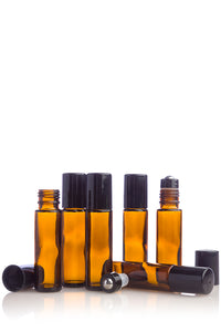 doTERRA Roll-on Bottles (Amber) 6-Pack - doTERRA