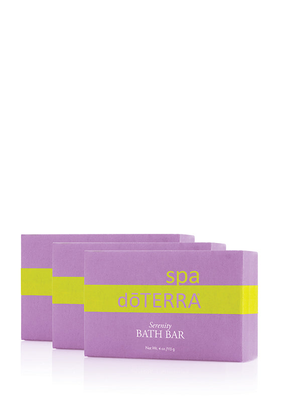 doTERRA SPA Serenity Restful Bath Bar - 3 Pack