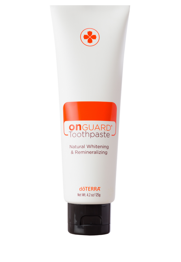 doTERRA On Guard Natural Whitening Toothpaste