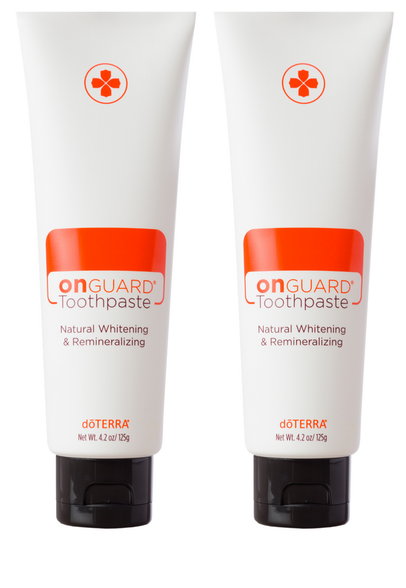 doTERRA On Guard Natural Whitening Toothpaste Twin Pack