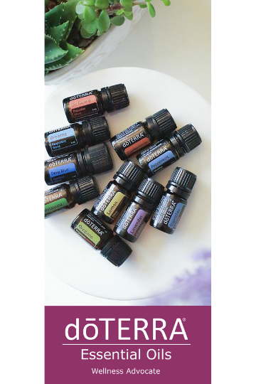 doTERRA Trifold Class Brochure (English)
