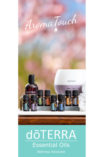 doTERRA AromaTouch Class Trifold Brochure (English)