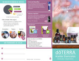 doTERRA AromaTouch Class Trifold Brochure (Spanish)