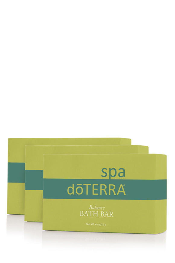 doTERRA SPA Balance Bath Bar - 3 Pack
