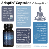 doTERRA Adaptiv Calming Blend Capsules Infographic