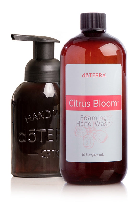 Citrus Bloom Foaming Hand Wash with Decorative Dispenser