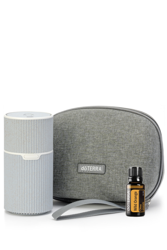 dōTERRA Pilot Portable Diffuser with Wild Orange Collection