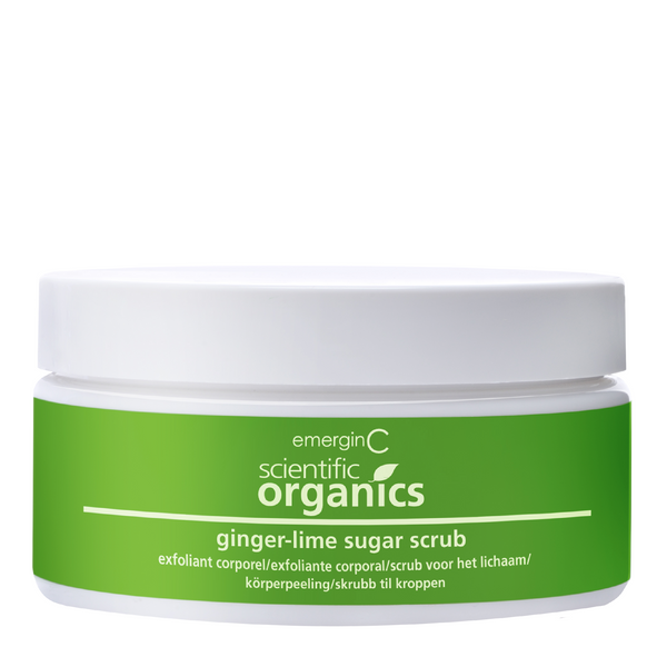 Organic Ginger-Lime Sugar Body Scrub - Tricoci