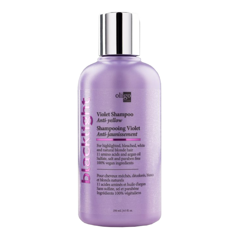Blacklight Anti-Yellow Violet Shampoo - Tricoci Salon & Spa