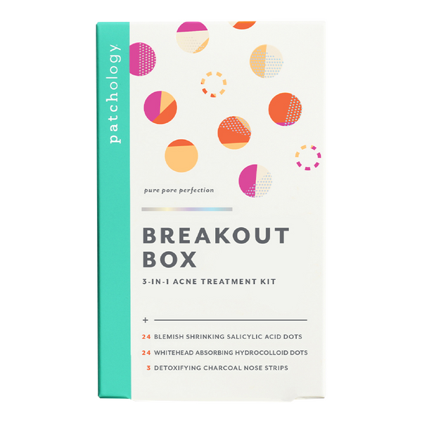 Breakout Box 3-In-1 Acne Treatment Kit - Tricoci