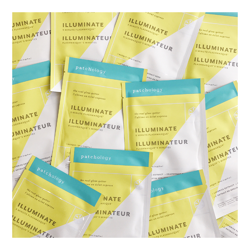 FlashMasque® Illuminate 5 Minute Sheet Mask - Tricoci