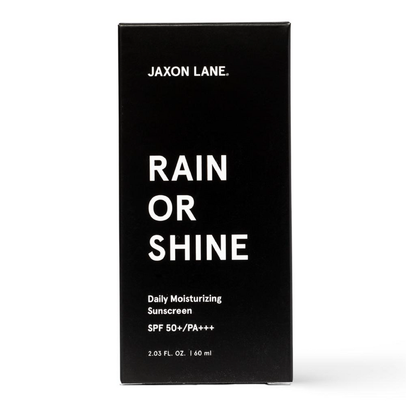 Rain or Shine Moisturizing Sunscreen