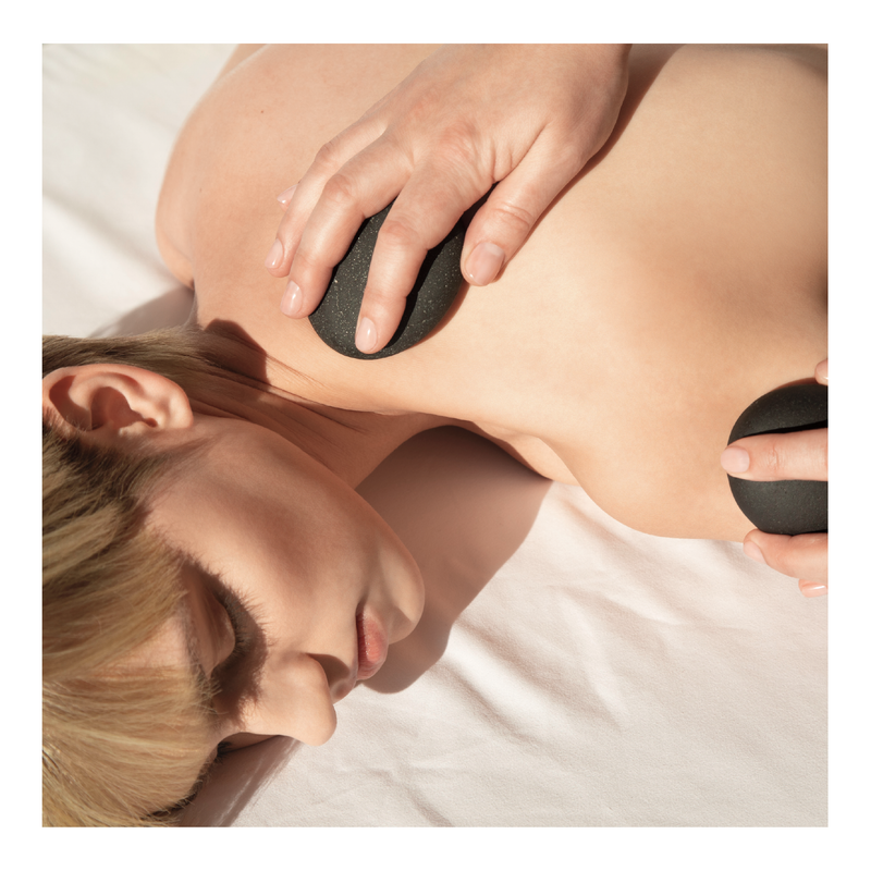 Therapeutic Stone Massage - Tricoci