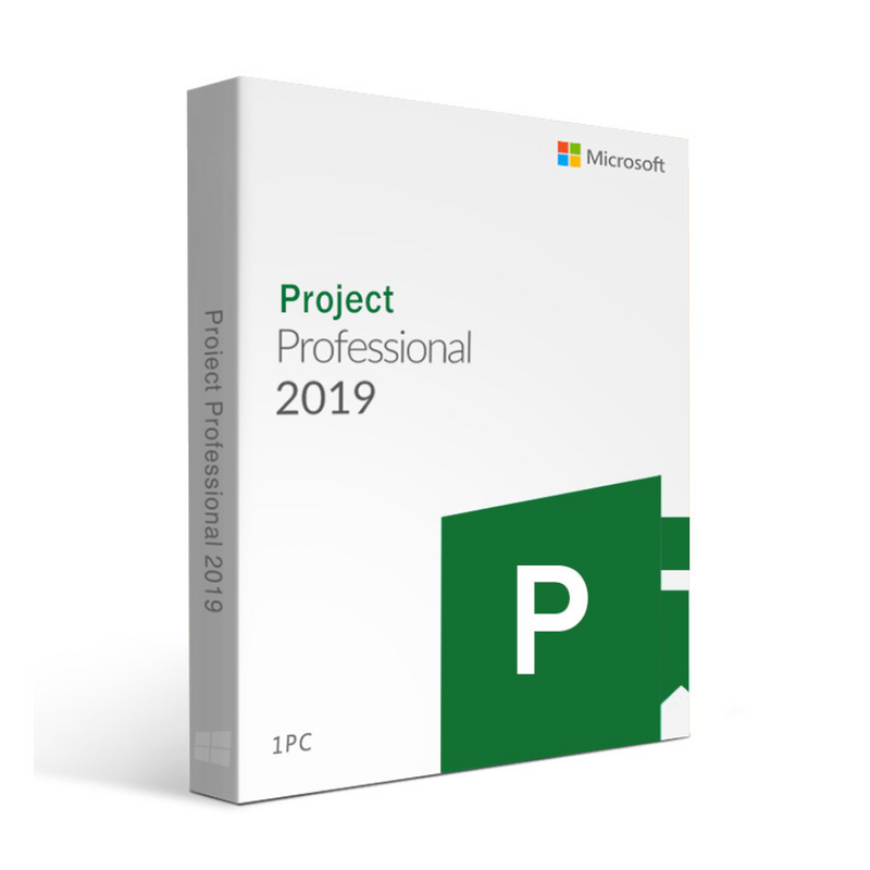 Microsoft Office 2019 Project Professional For Windows Device