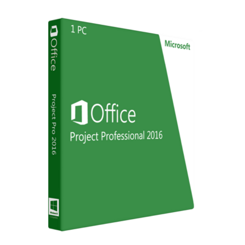 Microsoft Office 2016 Project Professional for Windows Device