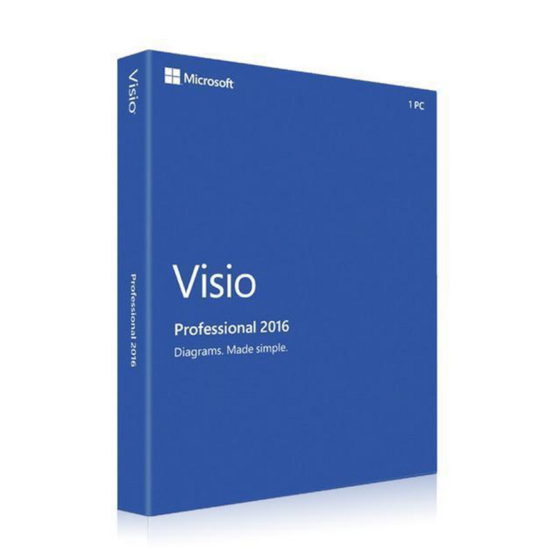 Microsoft Office 2016 Visio Professional For Windows Device