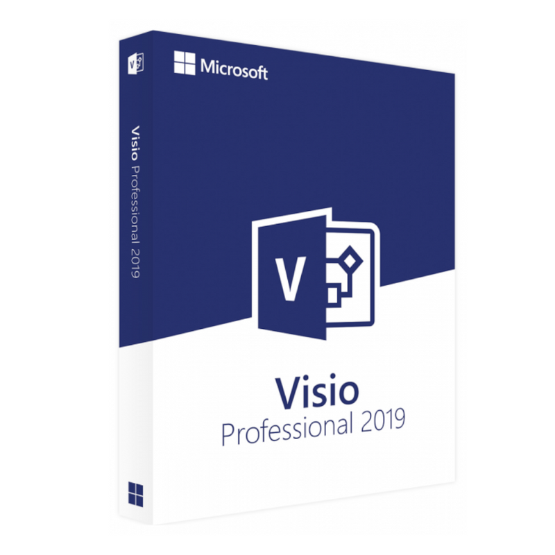 Microsoft Office 2019 Visio Professional For Windows Device