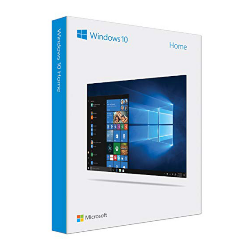 Microsoft Windows 10 Home For 32 or 64 Bit
