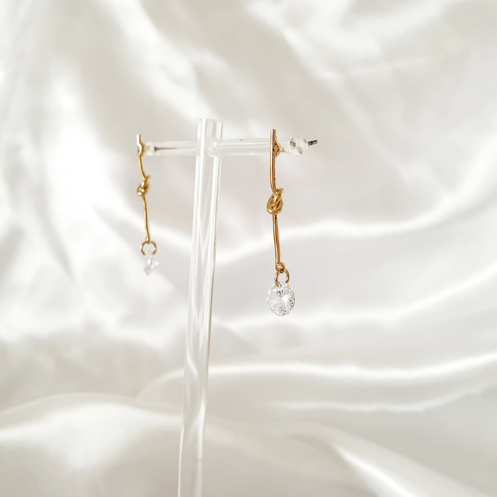 Ivy Earrings Gold
